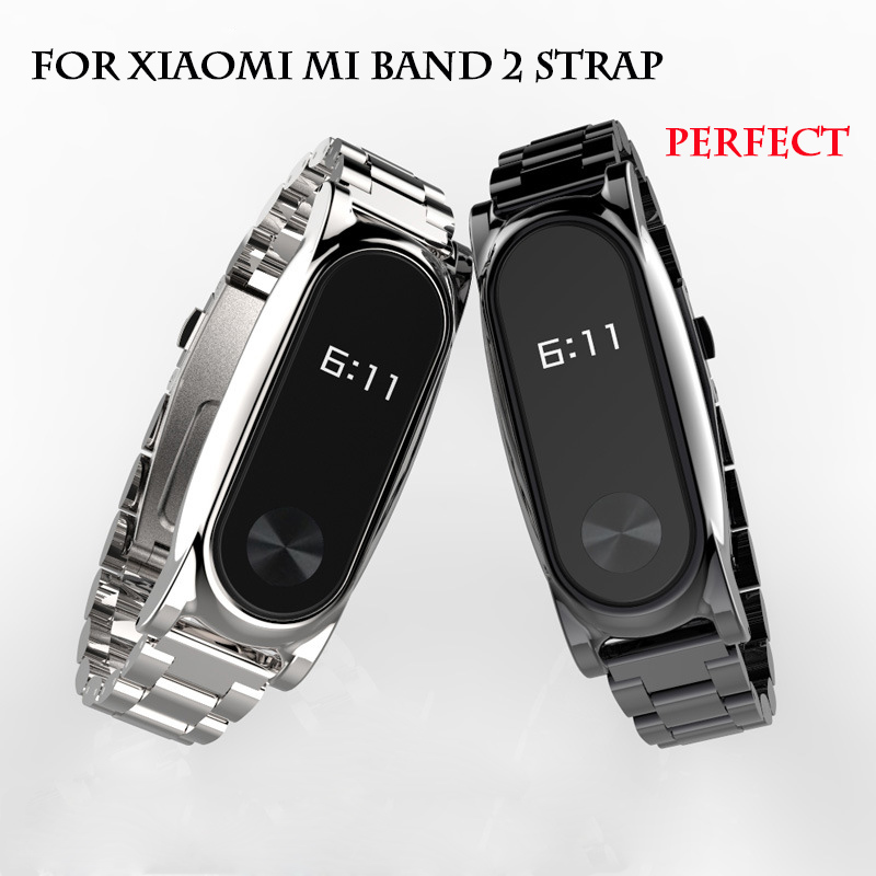 Metal Strap For Xiaomi Mi Band 2 Mediamass Shop